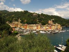 Free Entrance To Portofino - Italy Royalty Free Stock Photos - 20477258
