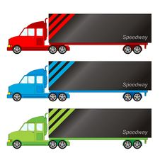 Vehicle Pack - Big Truck Stock Photography