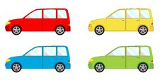 Free Vehicle Pack  - Liftback, Combi Royalty Free Stock Photography - 20477857