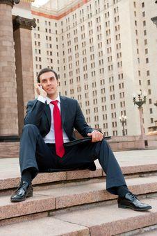 Free Businessman Calling Stock Photos - 20478163