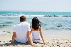 Free Couple On Beach Royalty Free Stock Photos - 20478358
