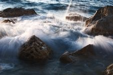 Free Stones In Sea Royalty Free Stock Image - 20479376