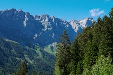 Free Summer Alpine Mountain Landscape Stock Image - 20479681