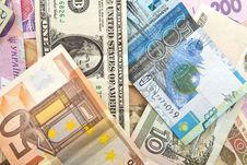 Free Euro Tenge Ruble Hrivnya Stock Photography - 20479842