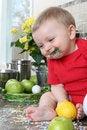 Free Kitchen Baby Stock Photos - 20482143