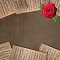 Free Grunge Music Background Stock Photography - 20487622