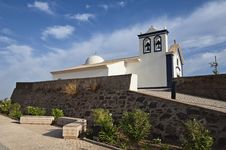 Church, Castro Marim Stock Photo