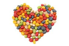 Free Candy Heart Stock Photo - 20480300