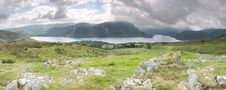 Free Ullswater Panorama Stock Photography - 20480302