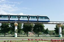 Free Monorail Train Royalty Free Stock Photography - 20480667