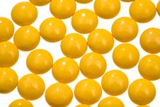 Free Yellow Vitamin Drugs Stock Images - 20481814