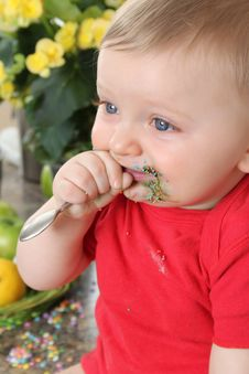Free Kitchen Baby Stock Photo - 20482180