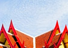 Free Roof Of Pavilion Royalty Free Stock Photos - 20482518
