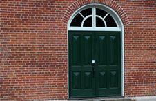 Free Green Doors Stock Images - 20482924