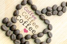 Free Cup Of Coffee Royalty Free Stock Photography - 20483137