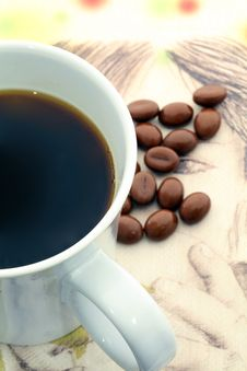 Free Cup Of Coffee Royalty Free Stock Photography - 20483147