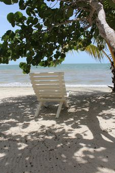 Free Chair In The Shade Royalty Free Stock Photos - 20483358