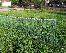 Free Abandoned Tennis Court Royalty Free Stock Photography - 20483867