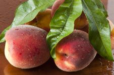 Free Biological Peaches Royalty Free Stock Image - 20484056