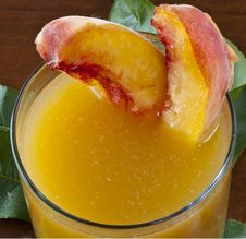 Free Juice Peaches Stock Image - 20484111
