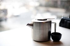 Free It Is The State Of The Kettle Is Placed At The Tab Stock Images - 20484164