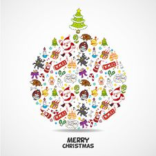 Free Cute Christmas Card Stock Images - 20484544