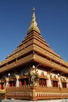 Wat Nong Wang Khonkaen Thailand Royalty Free Stock Photography