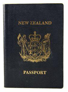 New Zealand Passport - Old Style