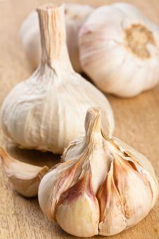 Free Garlic Bulbs Close Up Stock Photography - 20485142
