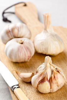 Free Garlic Bulbs Close Up Royalty Free Stock Photos - 20485168