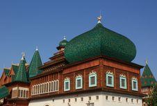 Free Towers Of The Palace Of Tsar Alexei Mikhailovich Stock Photo - 20485170