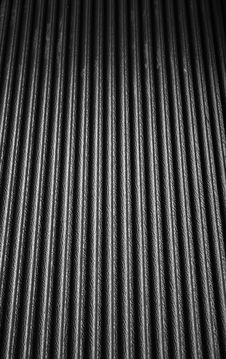 Black Texture Plastic With Wave Royalty Free Stock Photography