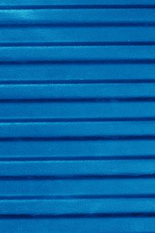 Blue Texture Plastic With Wave Royalty Free Stock Photos