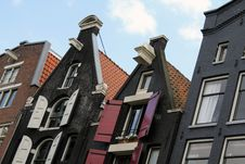 Free Amsterdam Houses Royalty Free Stock Images - 20486339