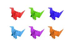 Free Origami Dinosaur Stock Photo - 20486430