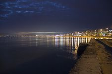 Free El Arenal Beach By Twilight Stock Photos - 20486443