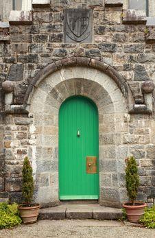 Castle Doorway. Royalty Free Stock Images