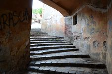 Free Inside The Covered Staircase In Sighişoara Stock Photos - 20488733