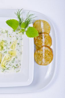 Free Polish Dill Soup Stock Photography - 20488752
