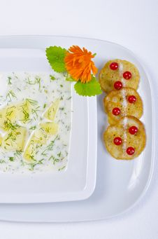 Free Polish Dill Soup Stock Photos - 20488823