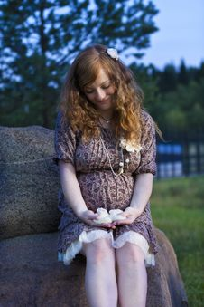 Future Redhead Mom Stock Images