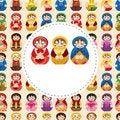 Free Cartoon Doll Card Royalty Free Stock Photography - 20497747