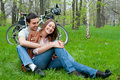 Free Young Couple Resting In A Park Royalty Free Stock Photo - 20497975