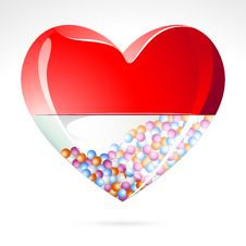 Love Pill Royalty Free Stock Photography