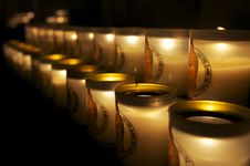 Free Candles At Notre Dame, Paris Royalty Free Stock Photo - 20494745