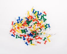 Free Push Pins Stock Image - 20495551