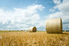 Free Straw Bales Stock Photo - 20495850