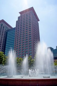 Free City Fountain Stock Photography - 20496152
