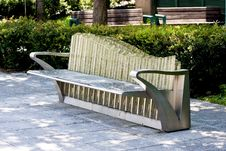 Free Public Chair Stock Image - 20496611