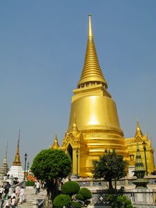 Free Golden Pagoda In Grand Palace Royalty Free Stock Photos - 20496978